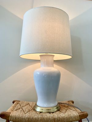 Cute White table lamp; 1 year old for Sale in Seattle, WA