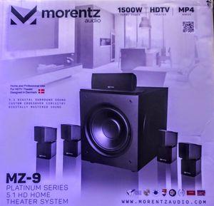 Morentz audio MZ-9 SPEAKERS PLATINUM SERIES for Sale in San Francisco, CA