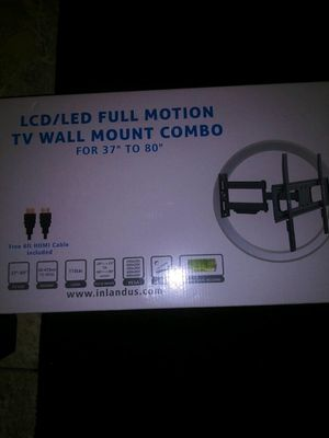 Tv wall mount 37 to 80 inches for Sale in Anaheim, CA
