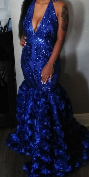 Custom Made Prom Dress - selling for $150-200 for Sale in Cape Coral, FL