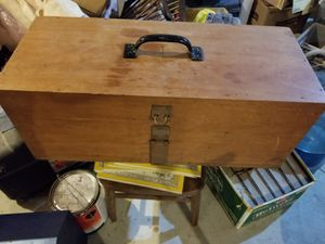 solid mahogany tool box for Sale in Barnegat Township, NJ