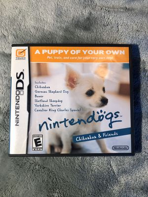 Nintendogs: Chihuahua and Friends for Nintendo DS/3DS for Sale in Lutz, FL