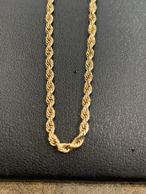 """28"""" GOLD ROPE CHAIN 14KT 4.1G for Sale in El Mirage, AZ"""