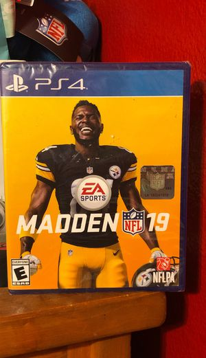 Madden 19 for PS4 for Sale in Santa Maria, CA