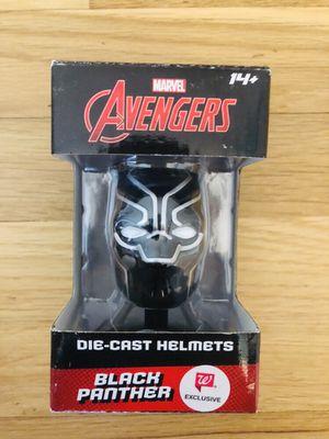 Marvel Avengers Black Panther Die Cast Helmet for Sale in Des Plaines, IL