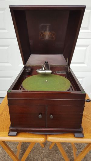 1919 Victrola Tabletop Phonograph Record Player for Sale in Fairfax, VA