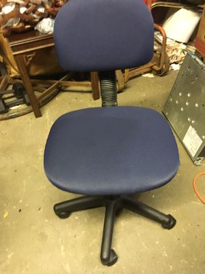 STENO CHAIR BLUE EXCELLENT CONDITION for Sale in South Brunswick Township, NJ