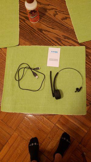 VTIN Bluetooth Headset w/ Mic for Sale in Washington, DC