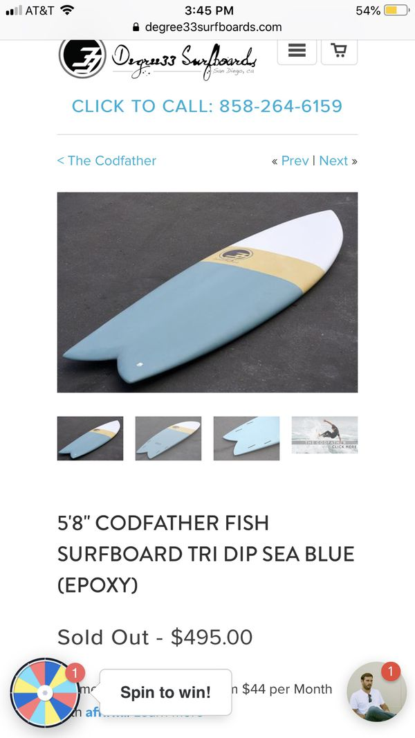 New surfboard with fins and insulated bag (120 dollar value)