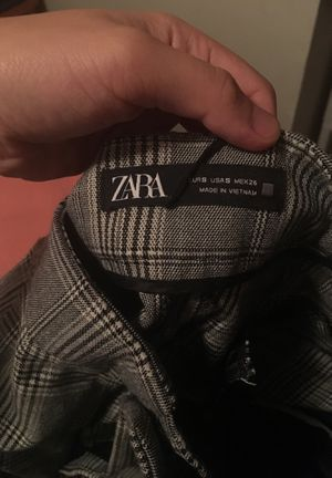 ZARA plaid pants for fall weather for Sale in Salt Lake City, UT