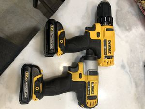 Dewalt 12 V Max lithium ion drill motor!! and impact!!! for Sale in Danville, CA