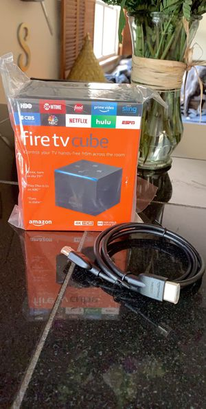 Fire tv cube for Sale in Evesham Township, NJ