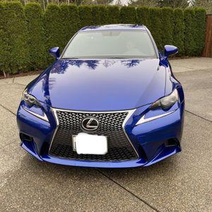 2016 Lexus IS 300 AWD All Wheel Drive for Sale in Auburn, WA