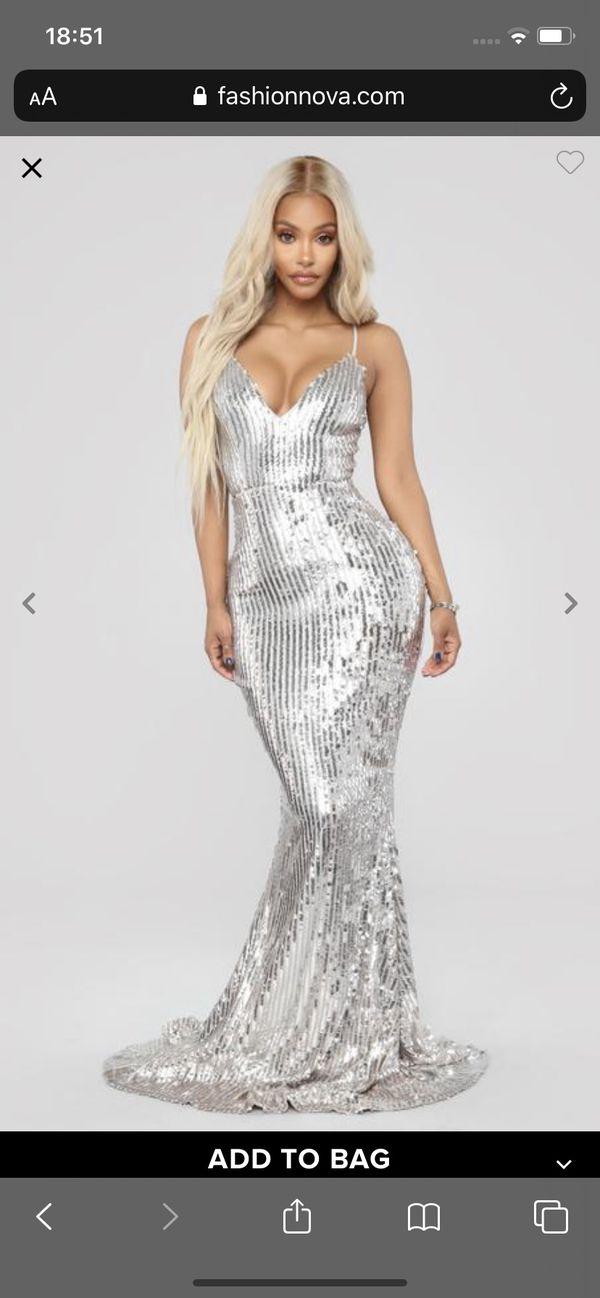 Isla Rose Sequin Dress- Fashion Nova