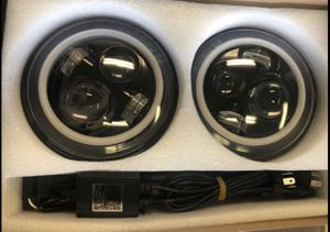 07-18 Jeep Wrangler Headlights for Sale in Houston, TX