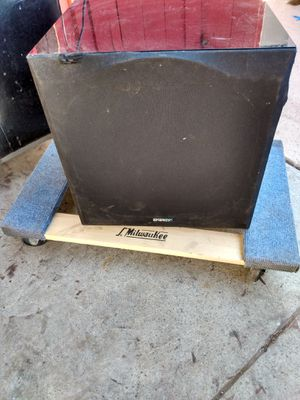 Energy e xl s12 subwoofer sounds great for Sale in San Jose, CA