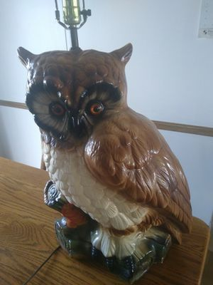 Pair owl lamps for Sale in Hebron, OH