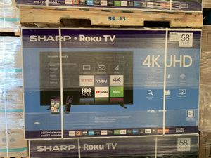 SHARP 58 INCHES 4K smart!! for Sale in Walnut, CA