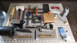 Leather crafting tools for Sale in Portland, OR