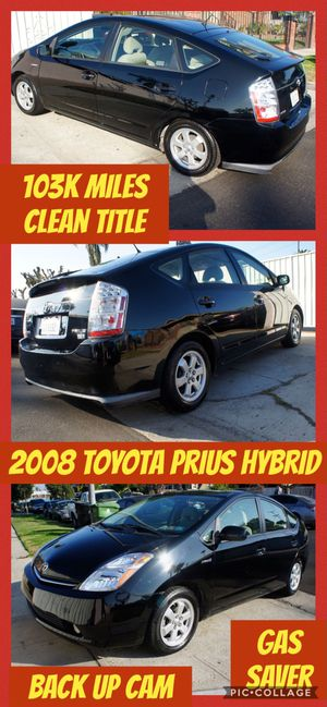 2008 Toyota Prius Hybrid 103K miles clean title for Sale in Los Angeles, CA