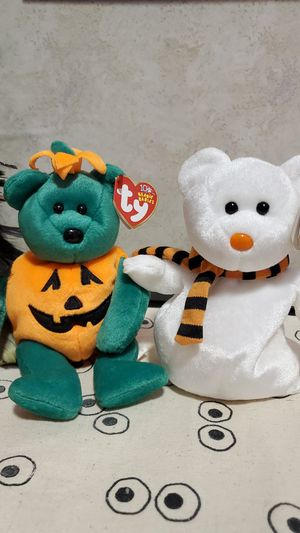 Halloween Beanie Babies- Tricky and Quivers for Sale in Virginia Beach, VA
