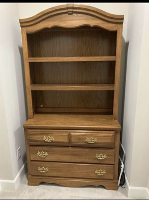 Wooden bookshelf and dresser for Sale in Bothell, WA