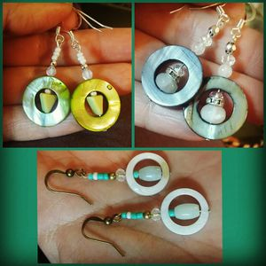 Mother of Pearl and Gemstone Earrings for Sale in Phoenix, AZ