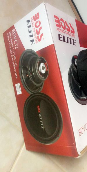 """1 Subwoofer 12"""" 🔊 1800 watts for Sale in Riverdale, MD"""