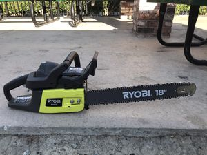 Ryobi chainsaw 18 inch for Sale in Concord, CA