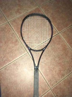 Prince CTS synergy 31 oversize tennis racket for Sale in Bakersfield, CA