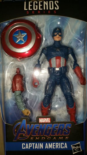 Marvel Legends Avengers Endgame Captain America Thor Baf for Sale in Chicago, IL