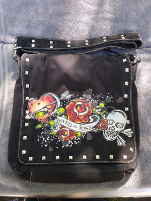Faux Ed Hardy Messenger Bag for Sale in Cumming, GA