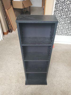Small black bookshelves for Sale in Sumner, WA