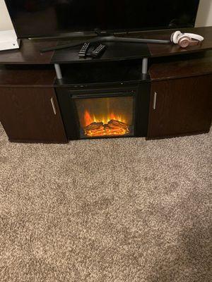 Fireplace entertainment center for Sale in Atlanta, GA