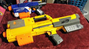 Lot of 2 Nerf Guns Deploy CS-6 & Retaliator for Sale in Mesa, AZ