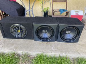 12 inch subwoofers for Sale in Ontario, CA