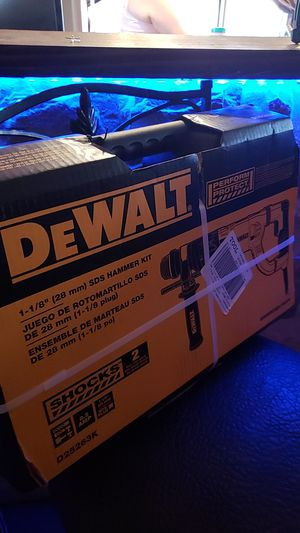 Dewait hammer drill for Sale in Denver, CO