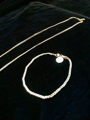 MICRO CUBAN LINK CHAIN 18K GOLD MADE IN ITALY for Sale in Orlando, FL