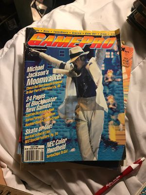 Game pro magazine Michael Jackson for Sale in Eau Claire, WI