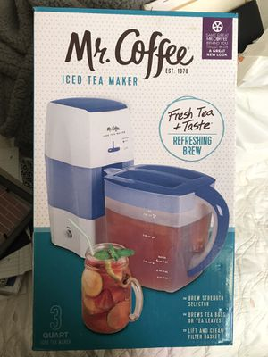 Mr Coffee ice tea maker for Sale in Glendora, CA