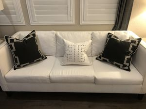 White sofa and love seat set for Sale in Dublin, CA