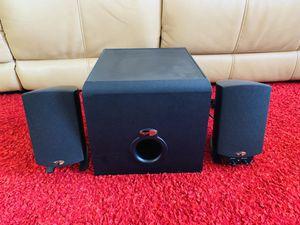 Klipsch 2.1 Pro media home theatre speakers for Sale in Fremont, CA
