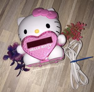 Hello kitty clock for Sale in Orlando, FL