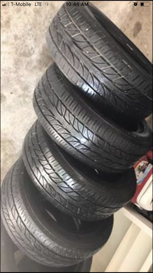 225/45/17 MATCHING TIRE SETS APMOST NEW for Sale in Houston, TX