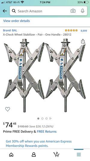RV stabilizer X Chocks for Sale in Tempe, AZ