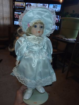 Antique porcelain doll for Sale in Sheridan, CO