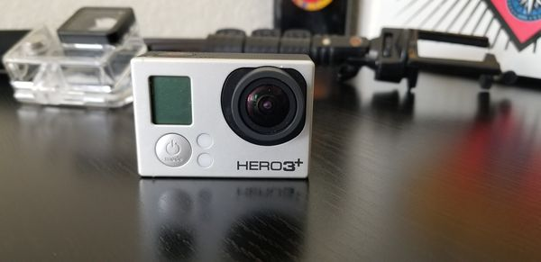 Gopro hero 3+ stick extension and case included
