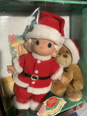 Precious Moments Bear-ie Christmas Dolls for Sale in Bergenfield, NJ