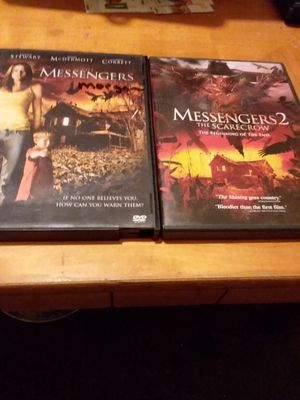 Messengers 1 and 2 dvds for Sale in Alderson, WV