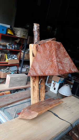 Custom made log lamp. for Sale in Eagle Creek, OR
